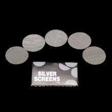 7b6469f4c9ef 200 piezas de unids Metal multifunción pantalla de tubo de tabaco hierba  pipa de fumar accesorios de filtro gadget de plata