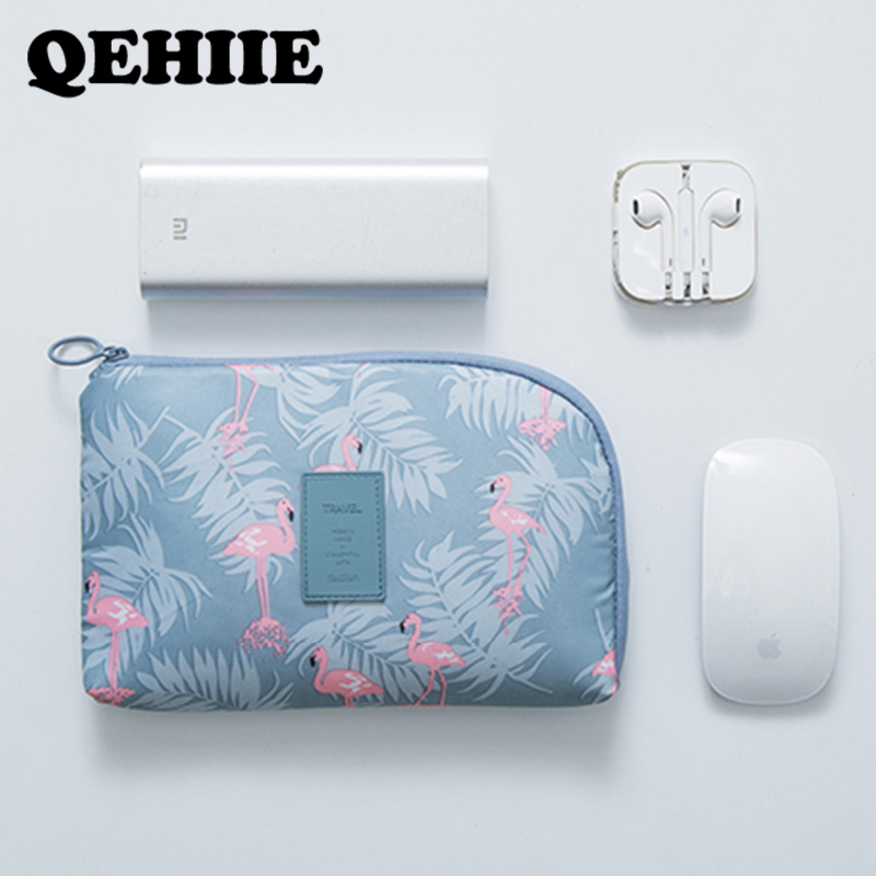 Travel Shockproof Digital Storage Package Data Cable Charger Finishing Package USB Cosmetic Organizer Bags Travel Accessories