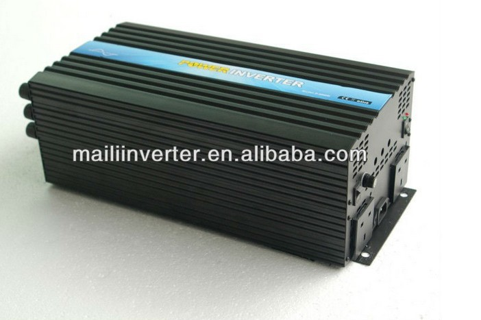2019 New Hot Sale Protable Solar Inverter, Panel Inverter 6000w dc ac 48v to 220v, Universal Sockets (500pcs per month) image