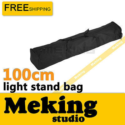 Photography Equipment Padd Zipper Bag 100cm/40in for Light Stands, Umbrellas