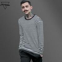 Aelfric Eden Korea Spring New Striped T Shirt Casual Mens Cotton Striped Long Sleeve T Shirt