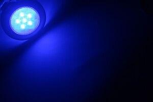 Image 4 - 12V Marine Boat Yacht RV LED Light Stainless Steel Housing White Blue Dome Light Interior Lamp