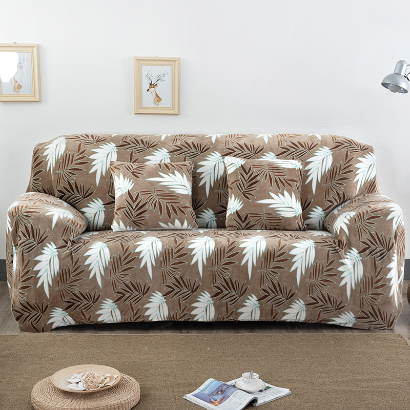 floral sofa covers stretch corner universal tension l