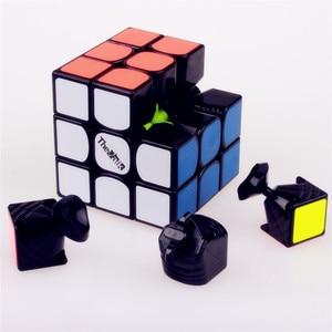 Image 3 - Qiyi את valk3 כוח m מהירות valk3 קוביית 3x3x3 מגנטי stickerless מקצועי קוביות צעצועים לילדים valk 3 m פאזל קוביית מגנט