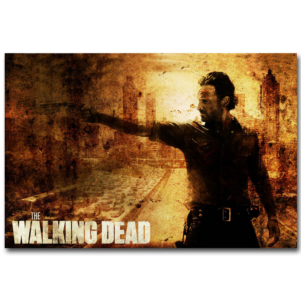 The Walking Dead TV Show Art Silk Poster Daryl 13x20 24x36 inch Home Decor 023