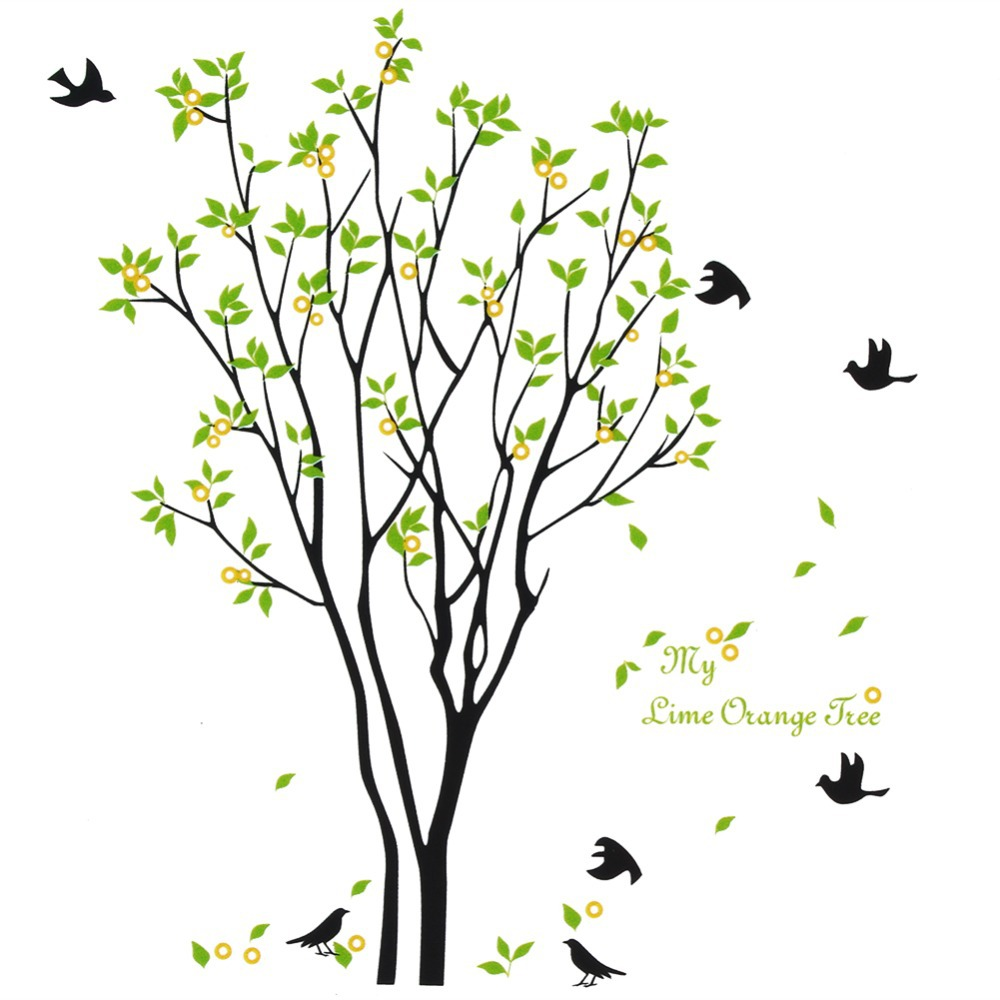 Aliexpress.com : Buy Decals Decor Art Removable Huge Birds Sing On The Tree  Wall Stickers From Reliable Sticker Holder Suppliers On Home Product No.1 Part 57