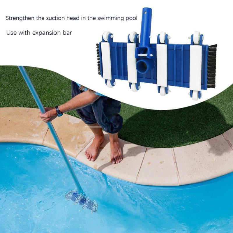 14 inch Plastic Swimming Pool Suction Head Bath Pool Vacuum Heads w/Brush Cleaning Tool14 inch Plastic Swimming Pool Suction Head Bath Pool Vacuum Heads w/Brush Cleaning Tool