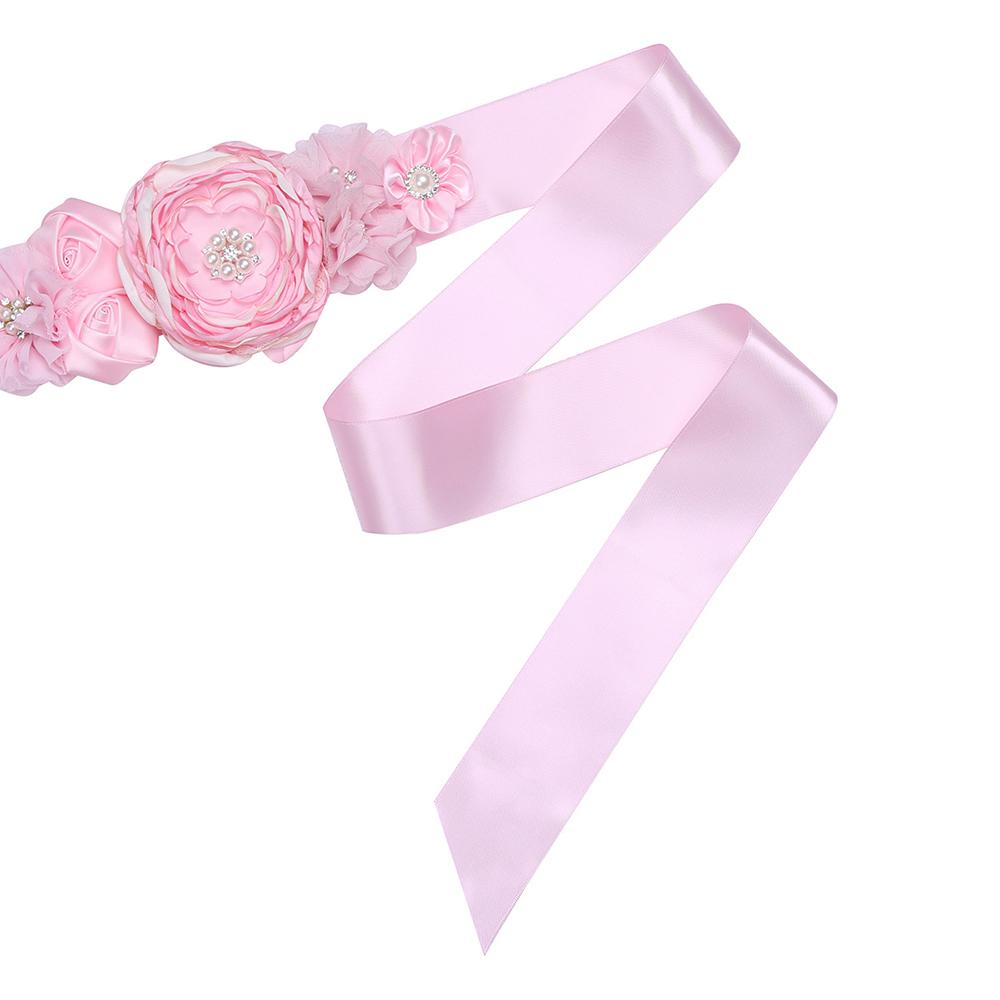 Pretty Women dama 3D floral perlas Vestidos de novia cinta SASH ...