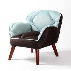 Современный диван Sinlge, мягкая детская мебель, японский низкий стул для детей, ленивый стул, обивка, ткань, дизайн дивана
