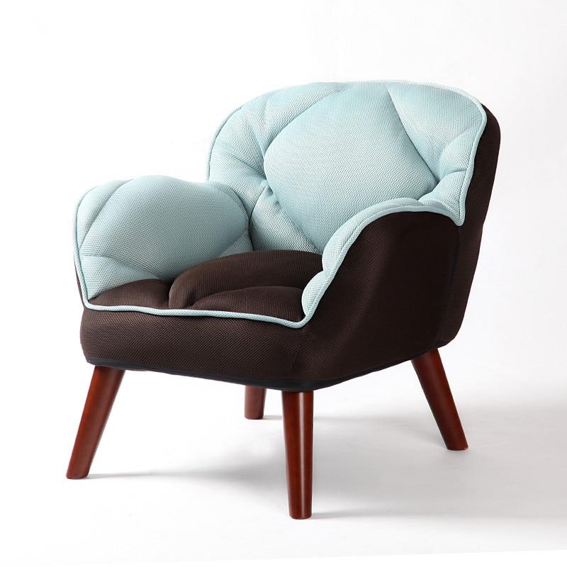 Modern Sinlge Sofa Upholstered Kids Furniture Japanese Low ...