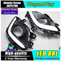 AUTO PRO for Mazda 6 ATENZA LED DRL Car Styling For ATENZA  LED daytime running lights parking driving cover led fog lamps