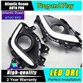 AUTO PRO para Mazda 6 ATENZA DRL LED Car Styling Para ATENZA tampa nevoeiro lâmpadas led de condução diurna LED correndo luzes de estacionamento