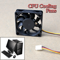 60x60x15mm 3 Pin 12V Case Computer Cooler Cooling Fan PC Black