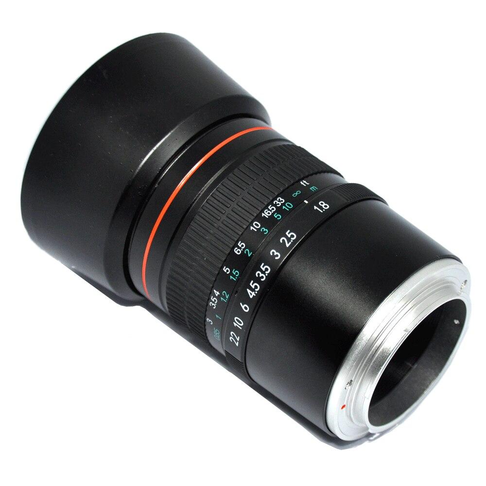 JINTU 85mm F/1,8 En telefoto retrato de primer fija marco lente Sony NEX3 NEX5 NEX6 NEX7 A5000 A6300 A6500 A7 A9 A7R Cámara