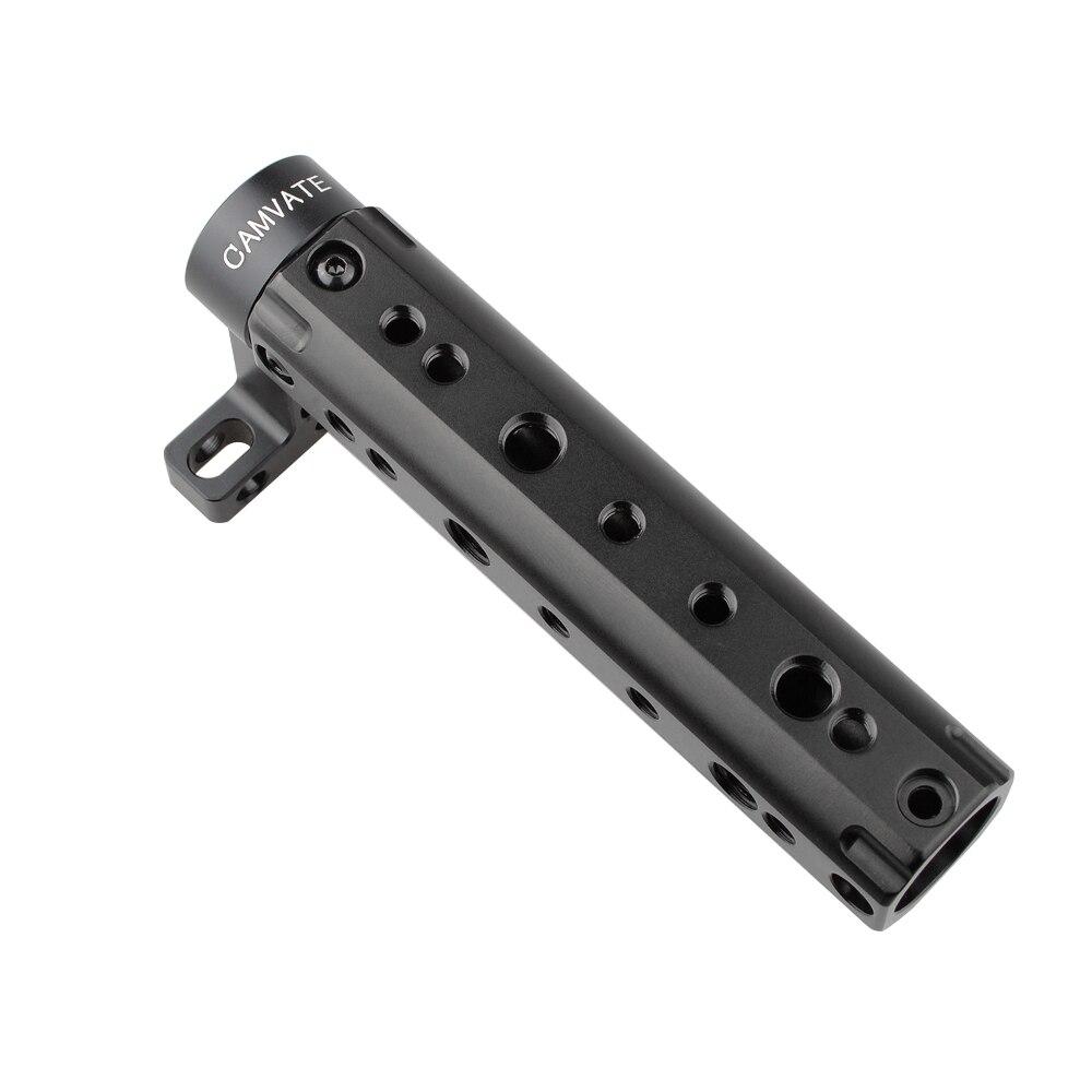 CAMVATE 카메라 그립 탑 DSLR 비디오 핸들 그립 BMCC 블랙 매직 시네마 핸드 그립 카메라 포토 스튜디오 액세서리 C1105