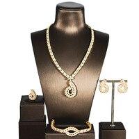 Fashion Simple Cubic Zirconium Jewelry Set Four Pieces