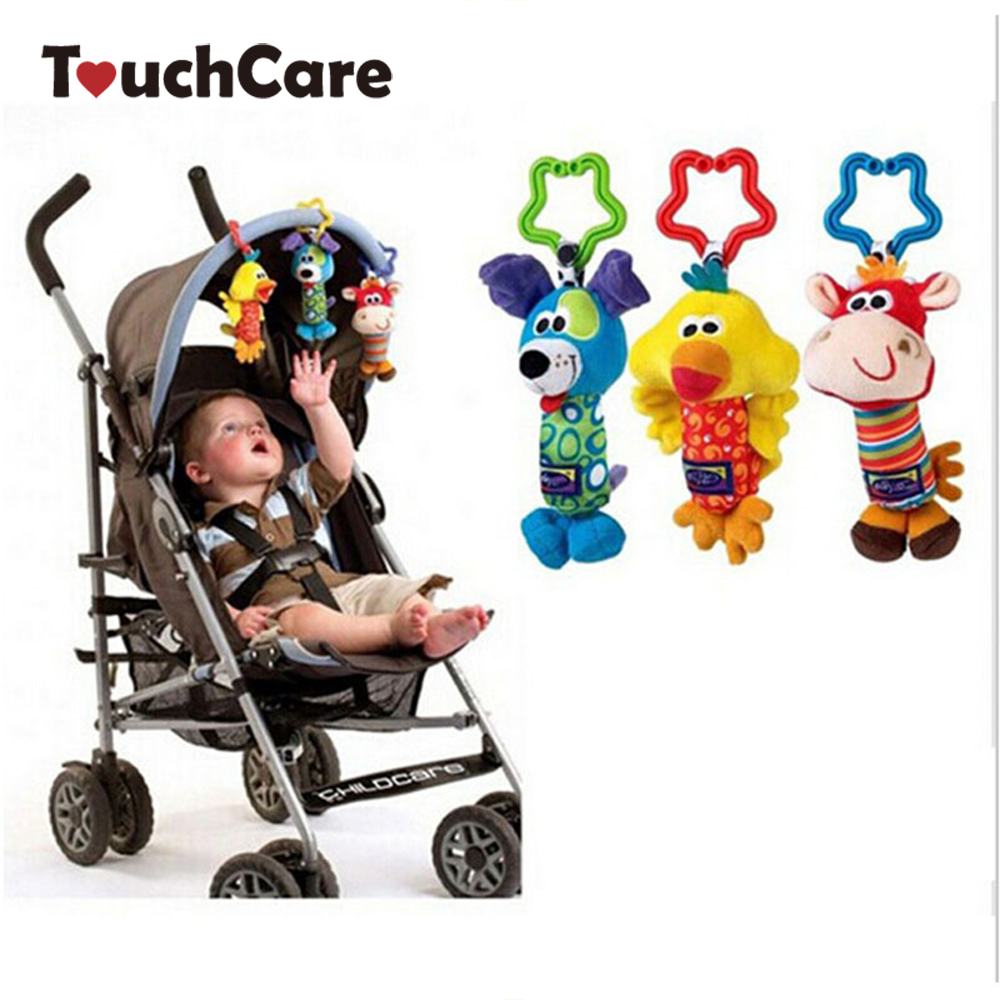 Newborn Soft Musical Baby Toys Cute Kids Baby Animal Stroller Toy Multifunctional Plush Playing Doll Brinquedos Bebes