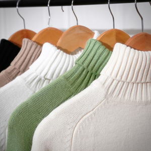 Image 5 - Heyezui Sweater Female 2019 Autumn Winter Cashmere Knitted Women Sweater And Pullover Female Tricot Jersey Jumper Pull Femme