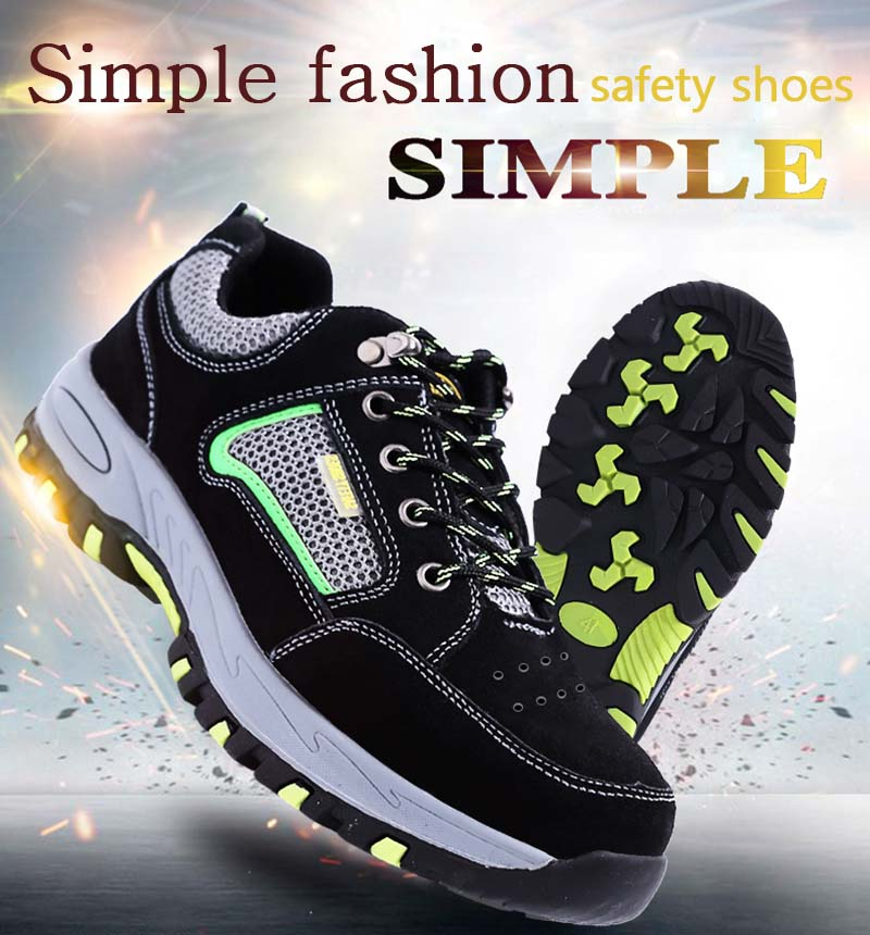 New-exhibition-Simple-fashion-safety-shoes-Men Steel-Toe-Breathable-with-Puncture-Proof-Midsole-Slip-Resistance-Men's-Work-Boots (8)
