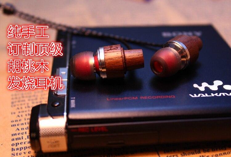 все цены на Handmade custom in-ear earphone Walnut wood в интернете