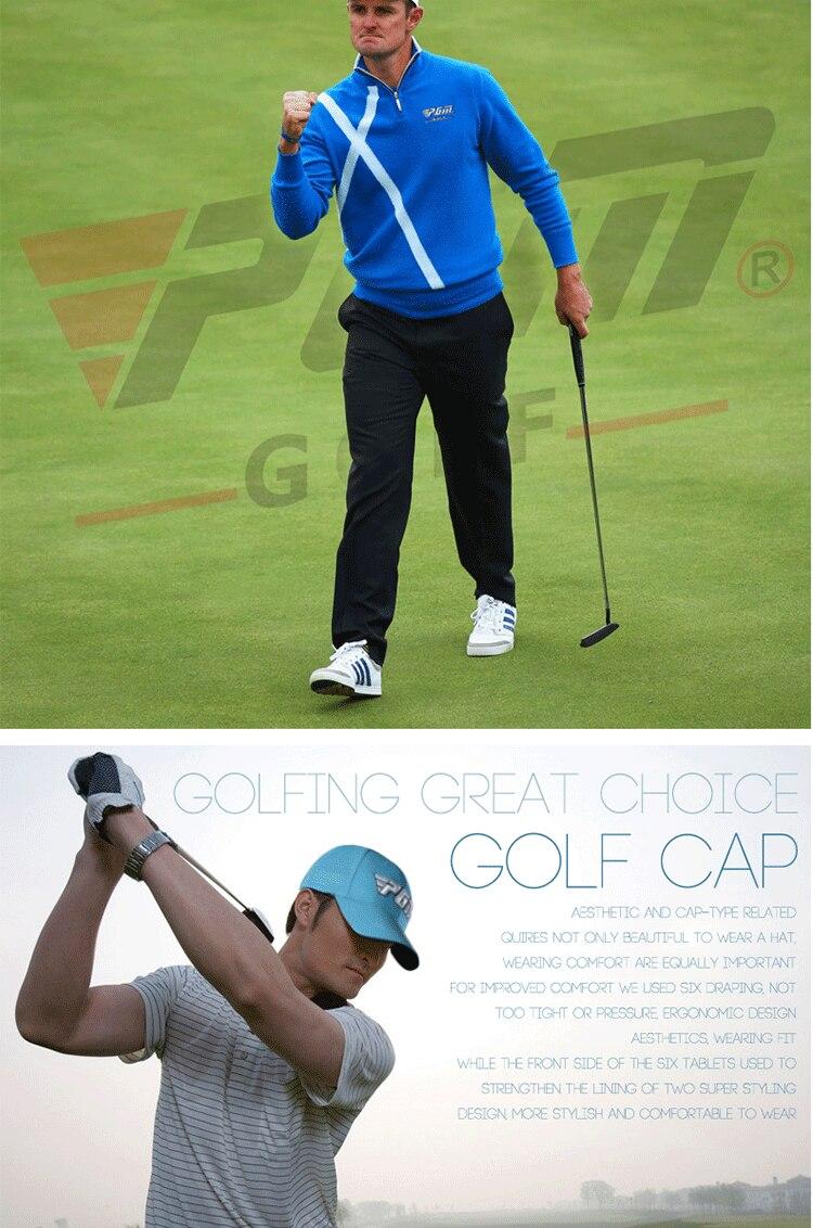 2017 nova marca pgm golfe chapéus para