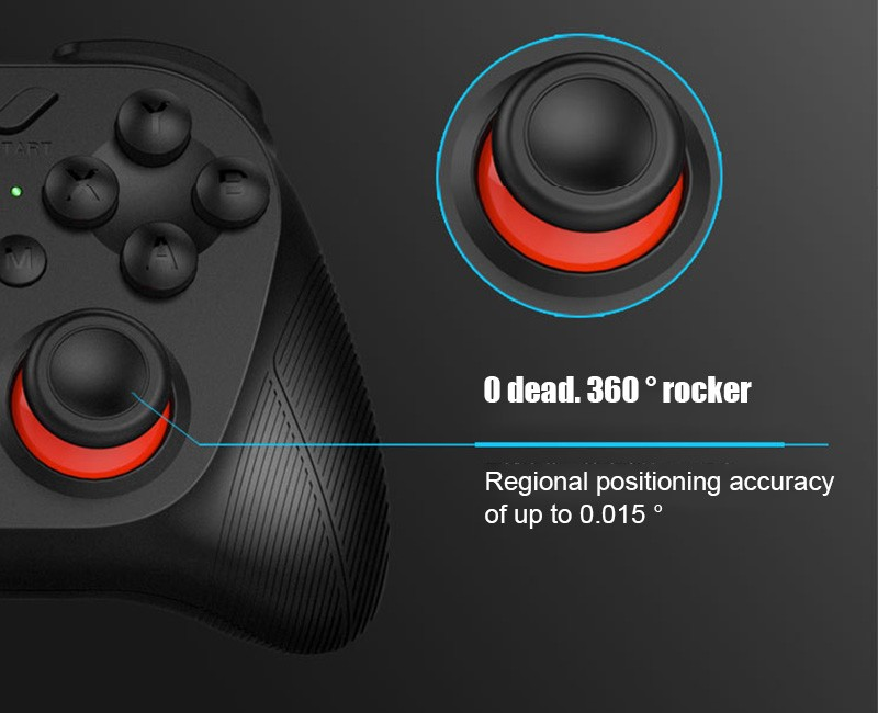 Hot!MOCUTE Wireless Bluetooth Games Handle 3.0 Controller Dual Joystick for Iphone and Android System & Laptop and VR 3D Glasses 9