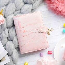 Lovedoki Marmo Rosa Notebook Legante E Ufficiale A6 A Spirale Pianificatore Organizzatore 2019 Agenda Diario Ragazze Della Scuola di Cancelleria Forniture
