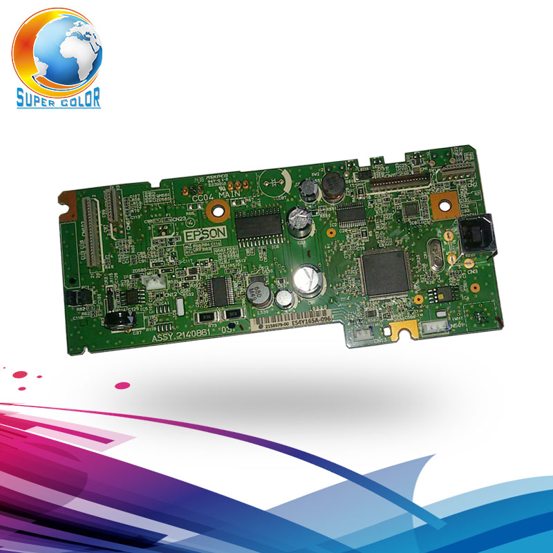 Free Shipping Formatter Board logic Main Board For EPSON L210 Original Mainboard formatter main board for epson l210 printer