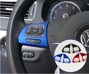 Slap-up mate para Volkswagen VW GOLF 6 MK6 Tiguan PASSAT, estilo de dirección de coche de ruedas