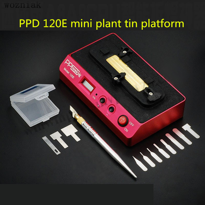 PPD 120E Reballing Stencil soldering station for iPhone BGA NAND chipsets A8 A9 open CPU BGA