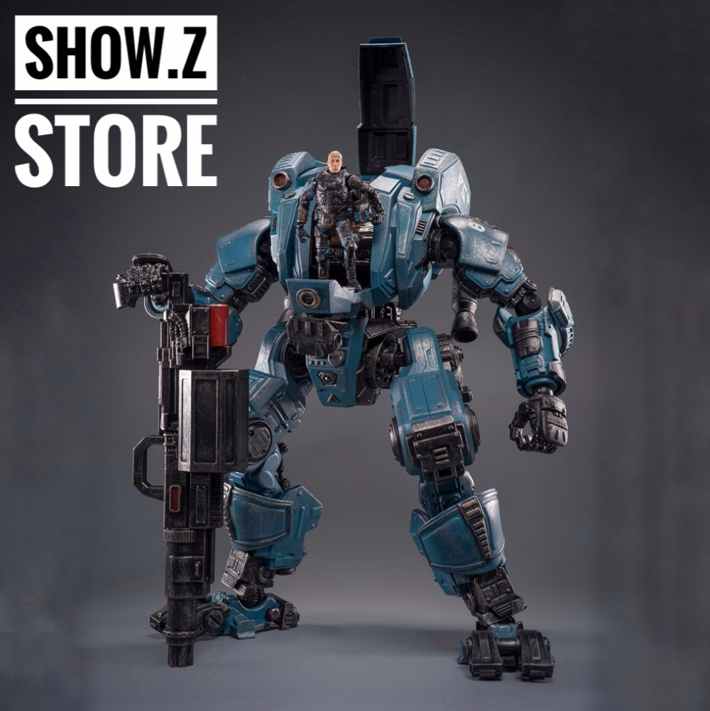 все цены на [Show.Z Store] JoyToy Source Acid Rain PG8790 Pangu Steel Knight Transformation Action Figure онлайн