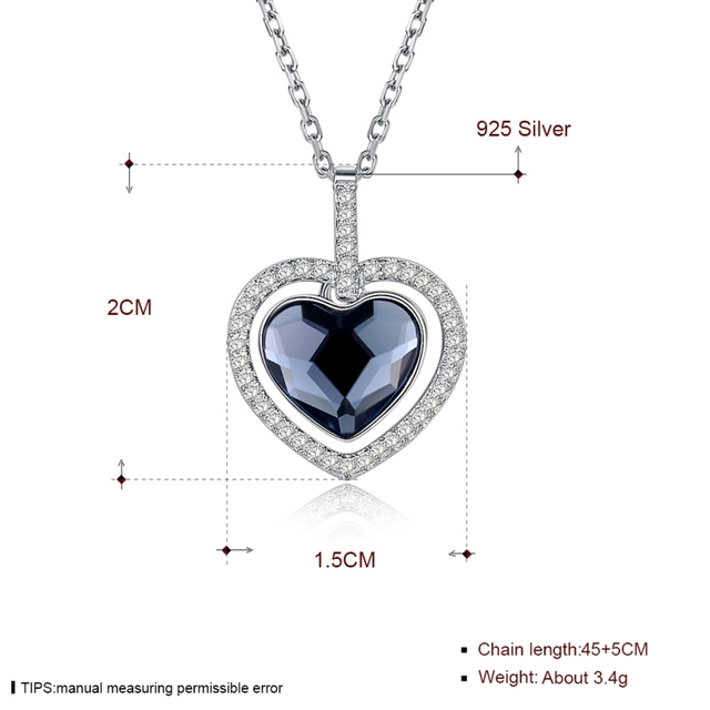 Ожерелья высокого качества серебряного цвета для женщин ожерелье