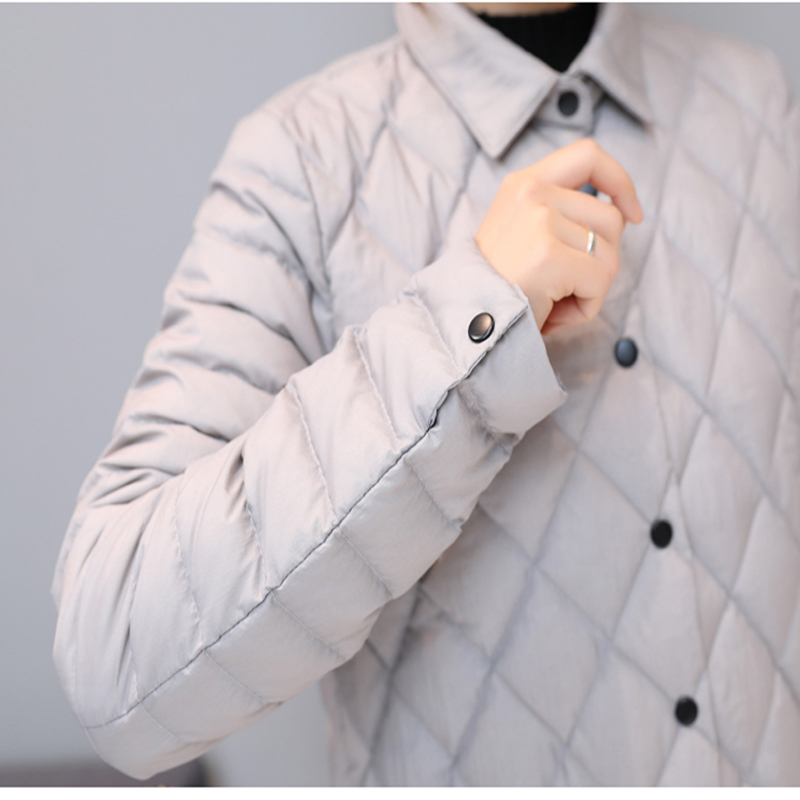 Agregar abrigo Ultra mantener caliente chaqueta de plumón de pato blanco x long mujer sobretodo nuevo Slim sólido chaquetas de invierno abrigos Parkas acolchadas - 5