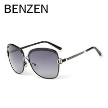 BENZEN Luxury Polarized Sunglasses Women Oversized Sun Glasses Female Retro Lentes De Sol  De Sol Femininos With Case 6115