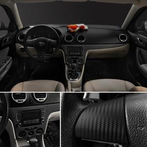 Image 4 - 30x127cm 3D Carbon Fiber Vinyl Film Car Stickers Waterproof Car Styling Wrap Auto Vehicle Detailing Car Accessories Motorcycle