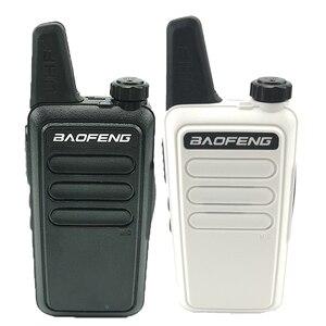 Image 2 - Baofeng BF R5 מיני ילדים ווקי טוקי משדר Hf UHF רדיו נייד 2 W צעצוע Communicator שימושי טוקי שתי דרך רדיו wln KD C1