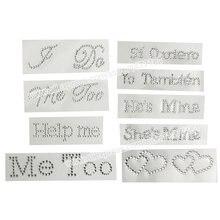 ba65c2a389 Popular Rhinestone Letters Stickers-Buy Cheap Rhinestone Letters ...