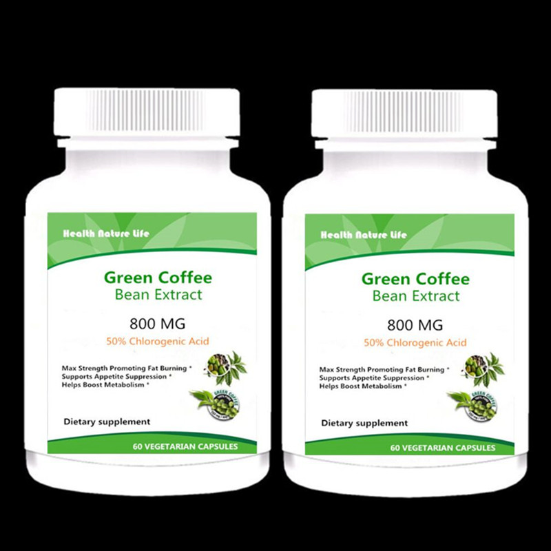 Organic Green Coffee Bean Extract Max Strength Natural Gca
