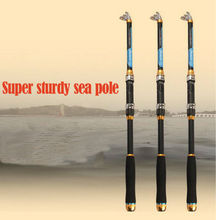 Superhard Carbon2.1-3.6M Fishing Rod Travel Distance ThrowingTelescopic Fishing Pole Spinning Saltwater Fishing Tackle Rods