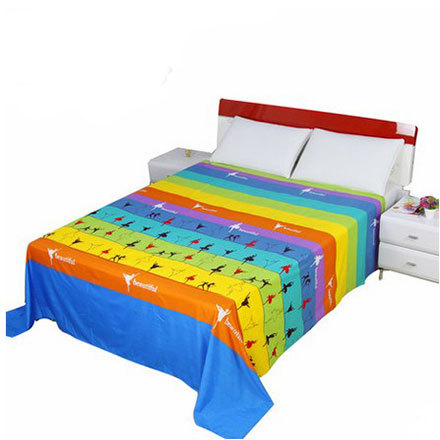 Printed Bed Sheet King Size Bed Sheets For Queen Size Beds Cheap But Good  Quality 100% Polyester Double Bed Sheet Free Shipping In Bedding Sets From  Home ...