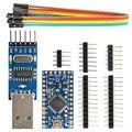 Про Мини ATmega328P 5 В/16 МГц Совет По Развитию + CH340G USB к TTL Конвертер Программист Модуль для Arduino
