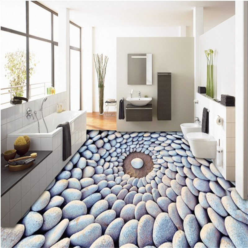Online Get Cheap Pebble Floor Tile Aliexpress Com