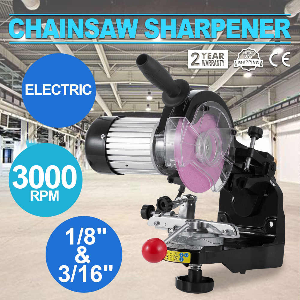 Stupendous Best Saw Chain Grinder With Grinding Wheel 1 8 And 3 16 Inch Electric Chainsaw Sharpener 230W 3000Rpm Bench Chainsaw Sharpener Gmtry Best Dining Table And Chair Ideas Images Gmtryco
