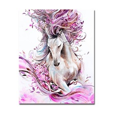 Diy Diamond Painting Abstract horse Cross Stitch Kits Full square 5d Diamond Embroidery Mosaic Home Decor Y1963 3d diy diamond painting horse picture mosaic 5d cross stitch full square diamond embroidery kits animal painting home decor