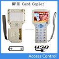 9 freqüência USB inteligente NFC RFID 125 khz Copiadora duplicador ID/IC leitor Escritor/copiar M1 13.56 MHZ Sector0 criptografado + 4 tipos de tags