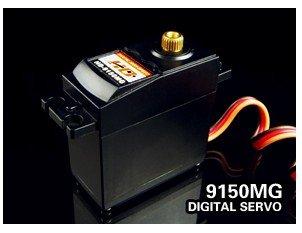 Register free shipping!! 100% original Power HD RC Servo 9150MG  61g/ 16Kg-cm Torque Metal gital Servo HD-9150MG