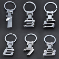 New Zinc Alloy Car Logo Key Chain Key Ring Keyring Chaveiro For BMW X1/3/5/6/7/8 Key Holder Free Shipping