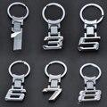 Nova Liga de Zinco Corrente Chave Do Logotipo Do Carro Chaveiro Chaveiro Chaveiro Para BMW X1/3/5/6/7/8 Chave Titular Frete Grátis