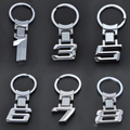 Nueva Aleación De Zinc Insignia Del Coche Llavero Llavero Llavero Chaveiro Para BMW X1/3/5/6/7/8 Key Holder Envío Gratis