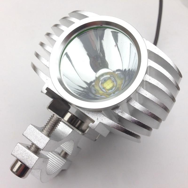 Led Spotlight Headlamp: 12v 85v 5/15W Led Motorcycle Spotlight Motorbike Headlight